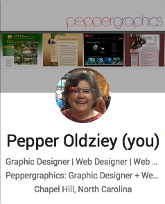 Pepper Oldziey Google Plus