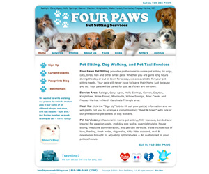 4 Paws Pet Sitting