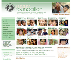 Mona Foundation Webby Honoree 2006
